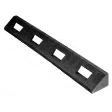 Gumowy krawężnik elastyczny, czarny